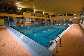 Indoor swimming pool with a relax centre